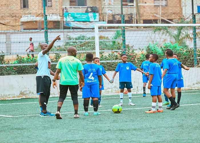 east legon football academy picture